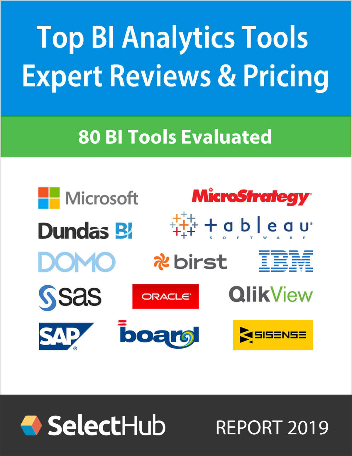 Top BI Analytics Tools 2019--Expert Reviews and Pricing