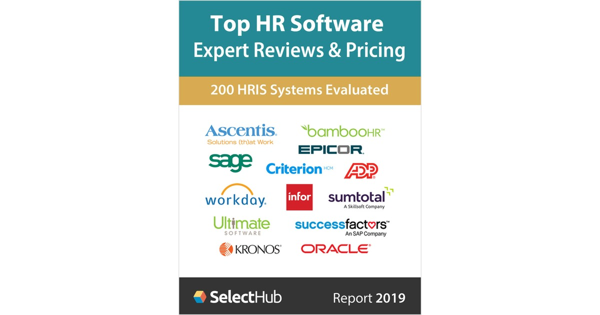 Top HR Software for 2019--Get Expert Reviews & Pricing--Free