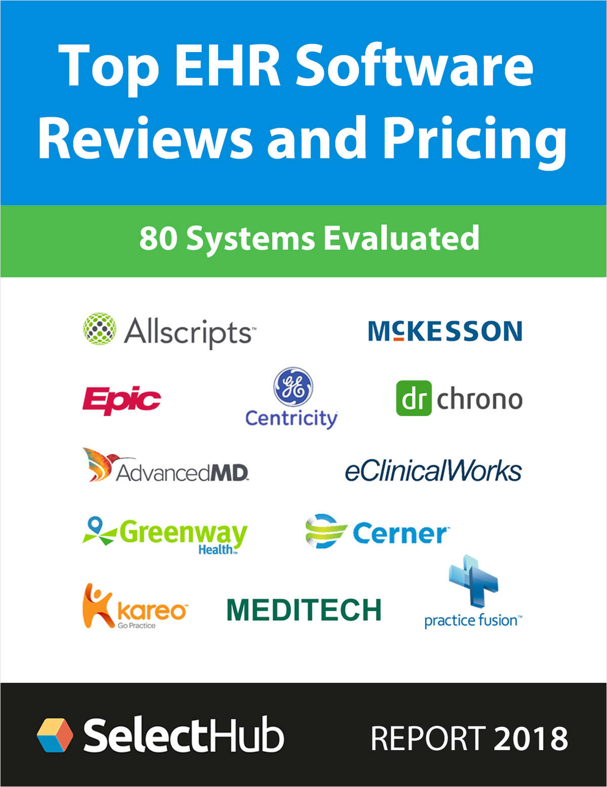 Top Electronic Health Record (EHR) Software for 2018--Get Expert Reviews and Pricing