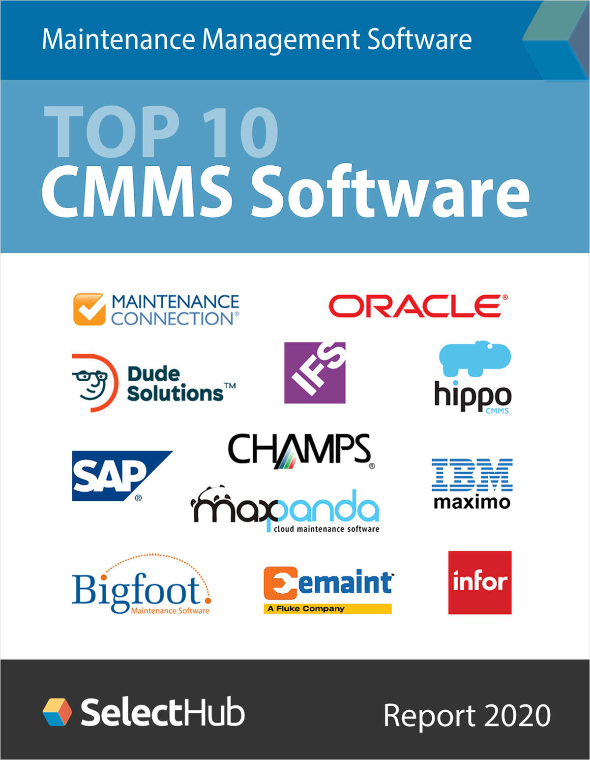 Compare CMMS Software Features & Pricing, Free SelectHub Report