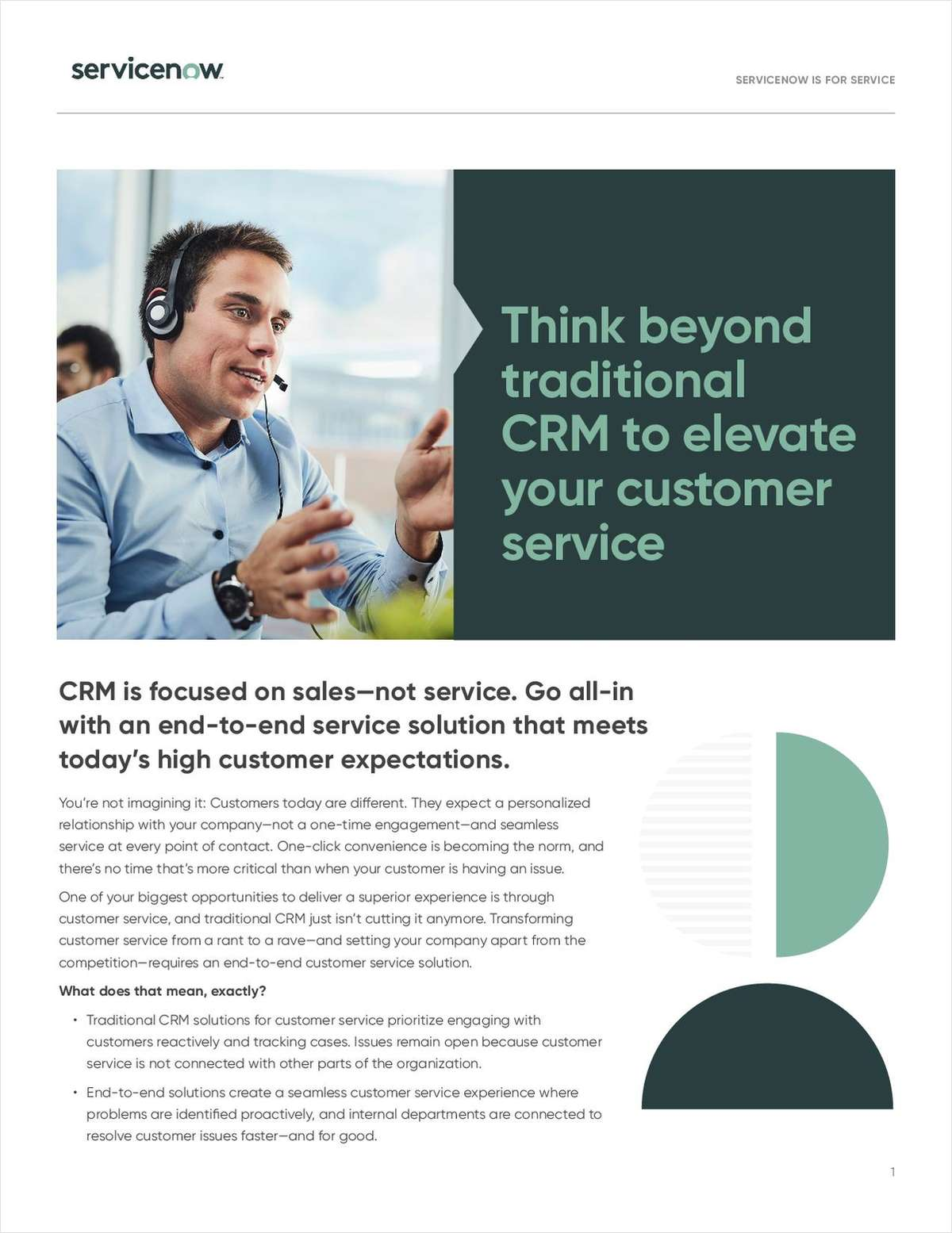 Think Beyond Traditional CRM to Elevate your Customer Service