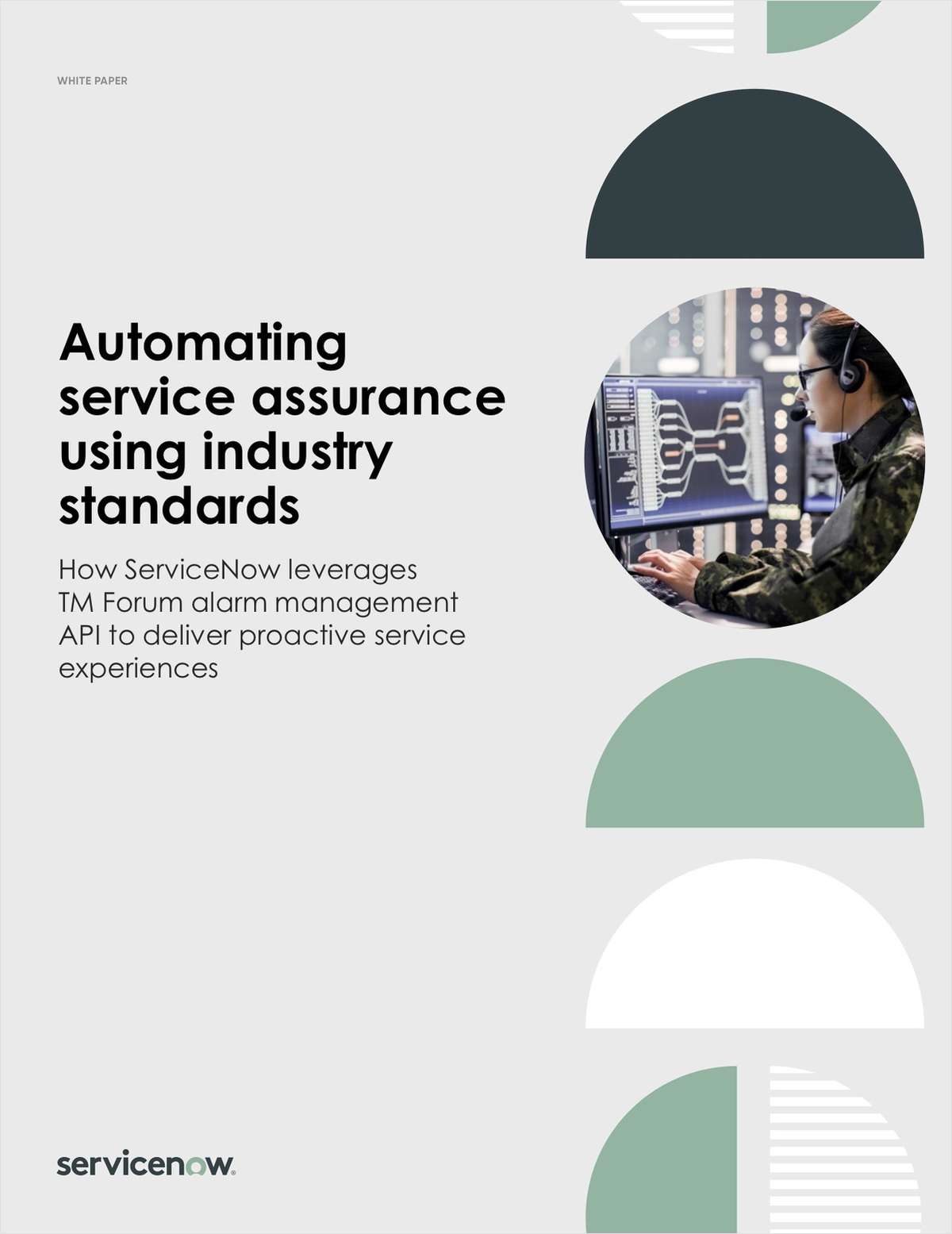 Automating service assurance using industry standards
