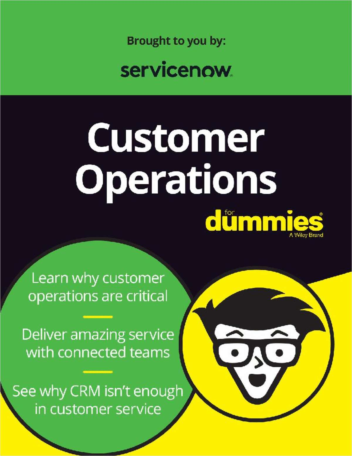 Customer Operations for Dummies, ServiceNow Special Edition