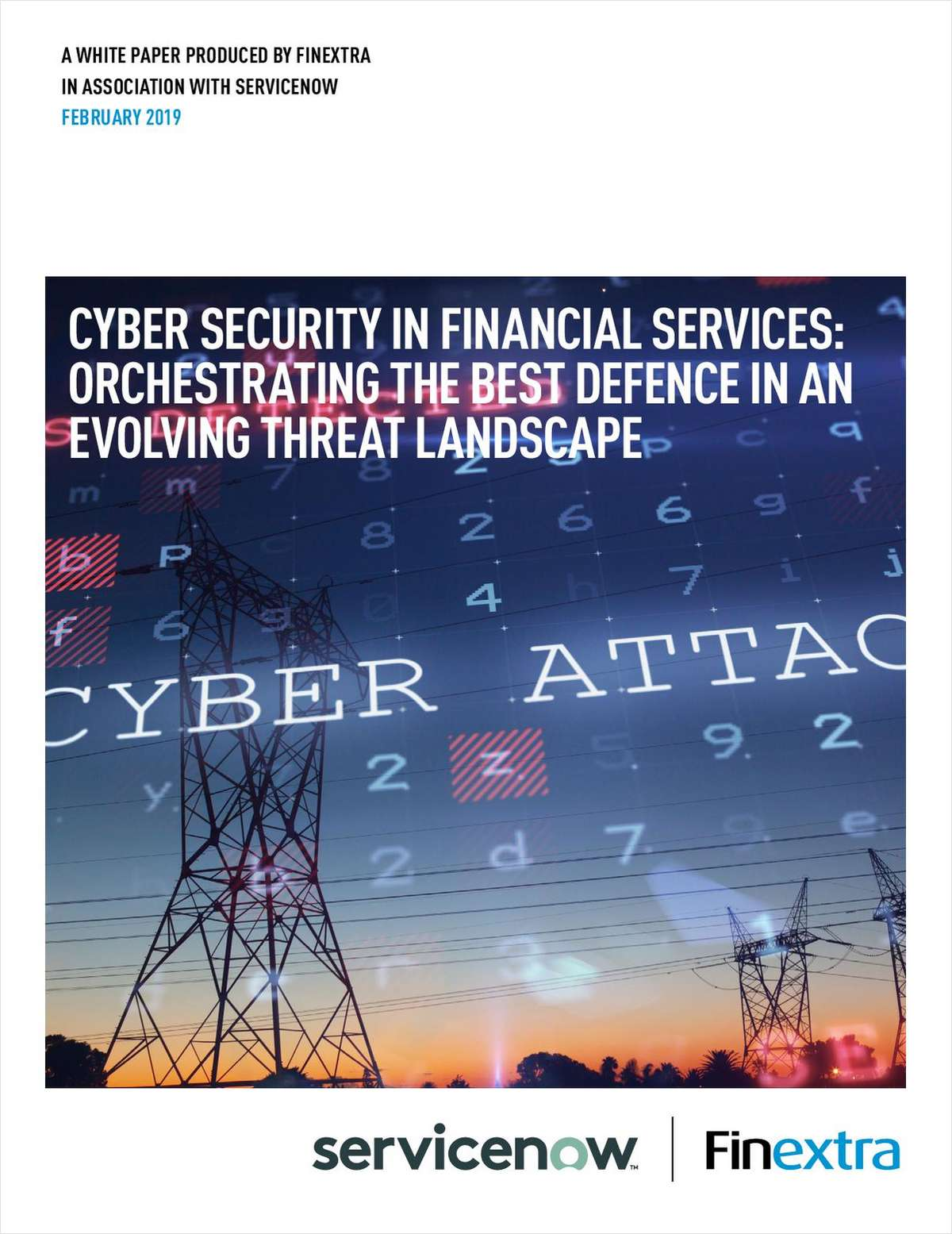Cyber Security in Financial Services: Orchestrating the Best Defence in an Evolving Threat Landscape
