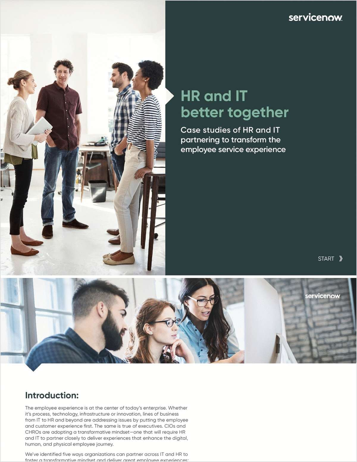 Case Studies: HR & IT Better Together