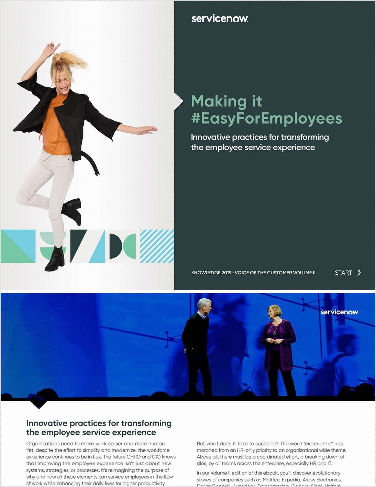 Making it #EasyForEmployees: Voice of Customer II