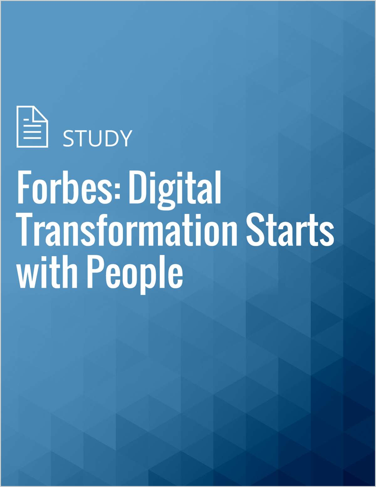 Forbes: Digital Transformation Starts with People