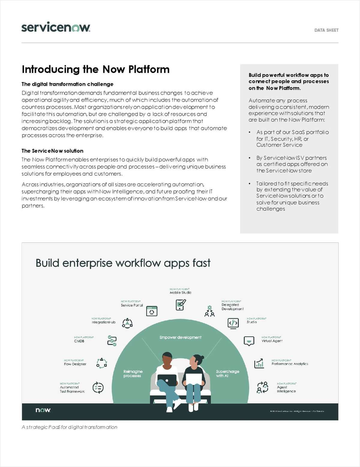 Transforming Your Operational Productivity Using the Now Platform