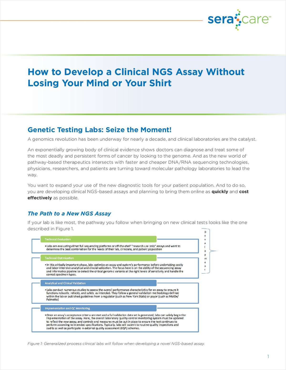 How to Develop a Clinical NGS Assay Without Losing Your Mind or Your Shirt