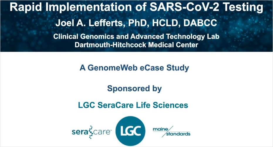 Rapid Implementation of SARS-CoV-2 Testing