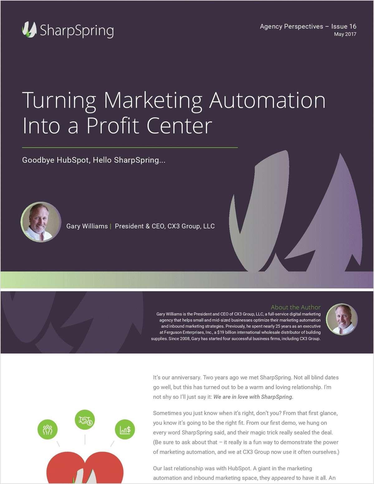 Turn Marketing Automation into a Killer Profit Center