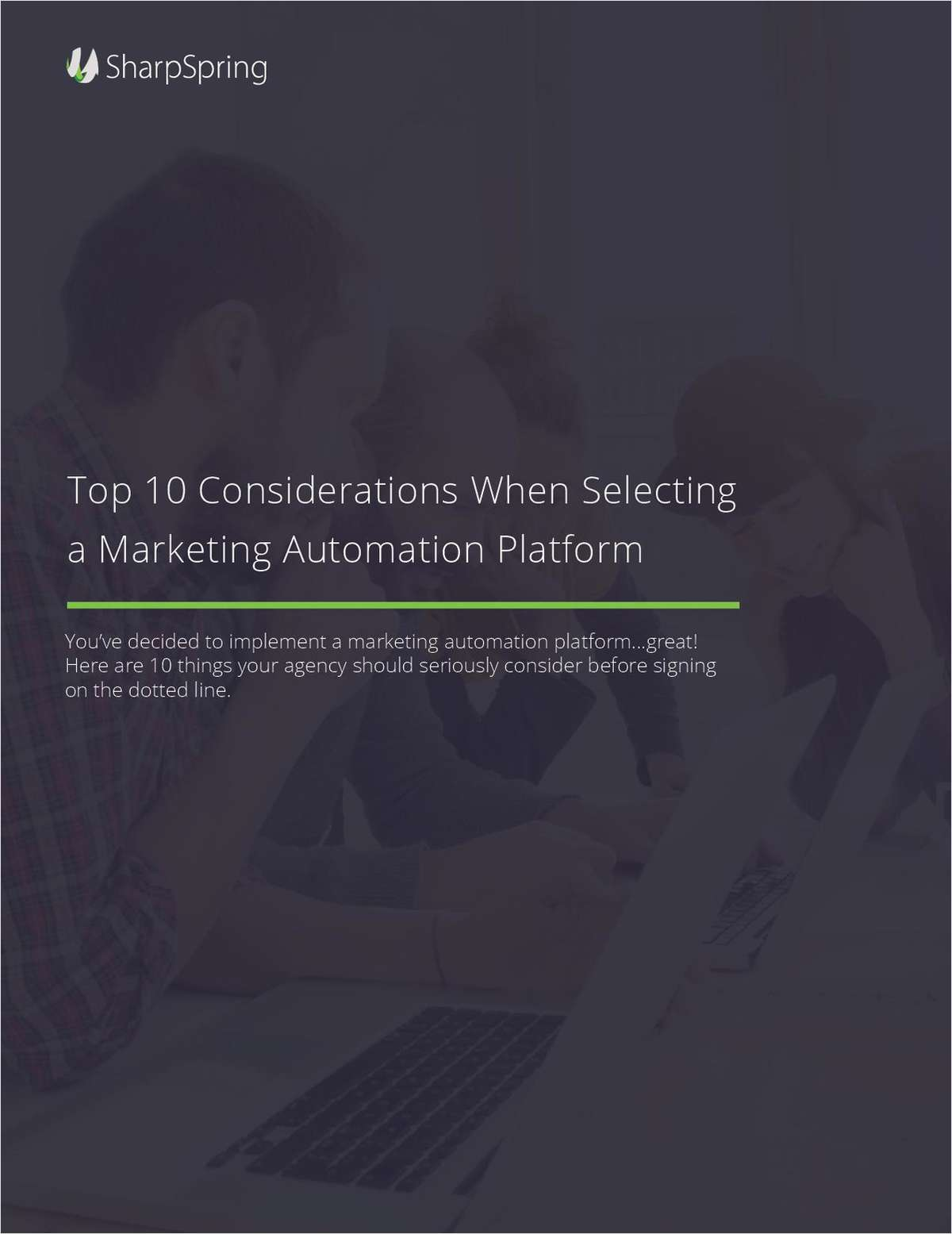 Top Ten Gotchas for Choosing Marketing Automation