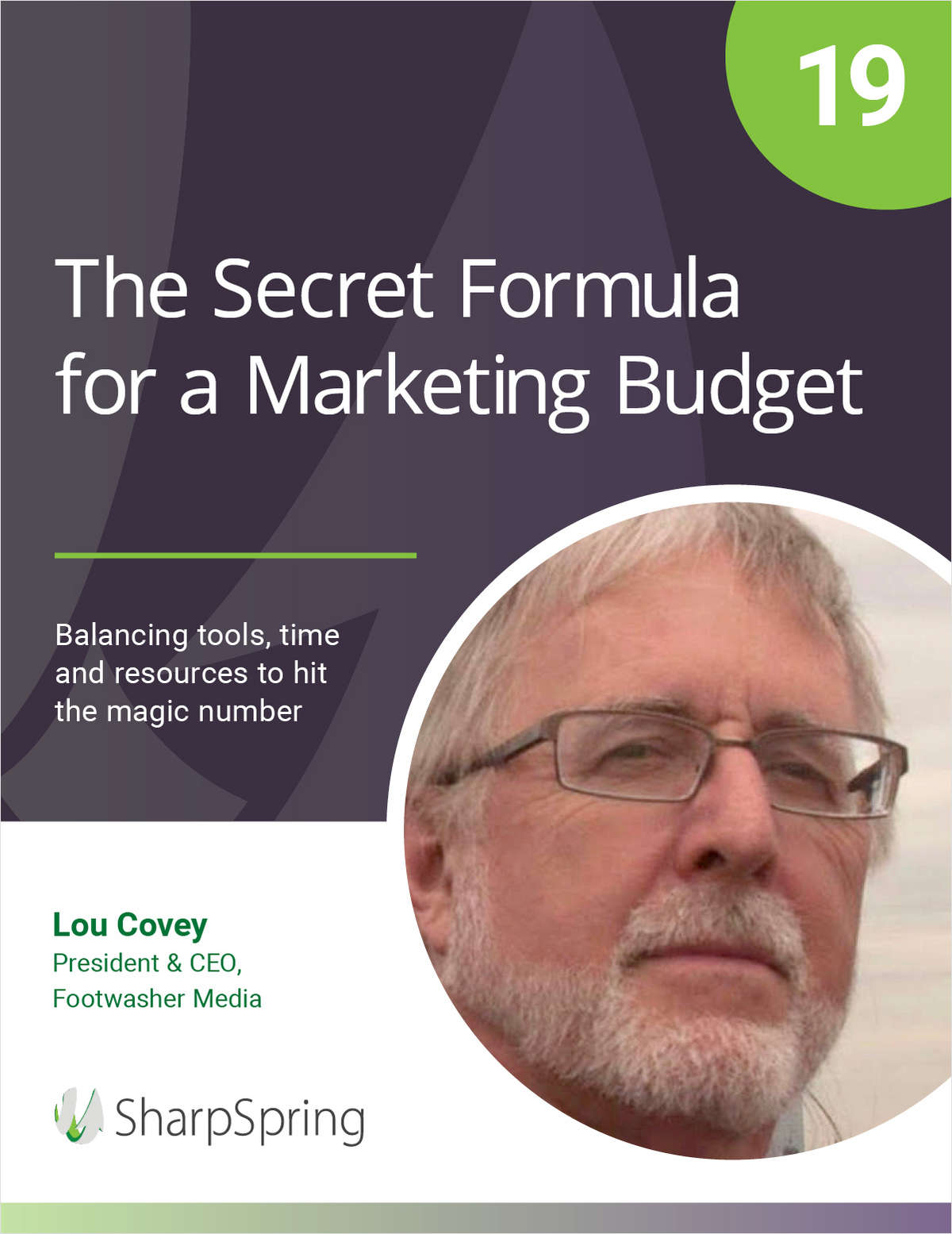 The Secret Formula for a Marketing Budget