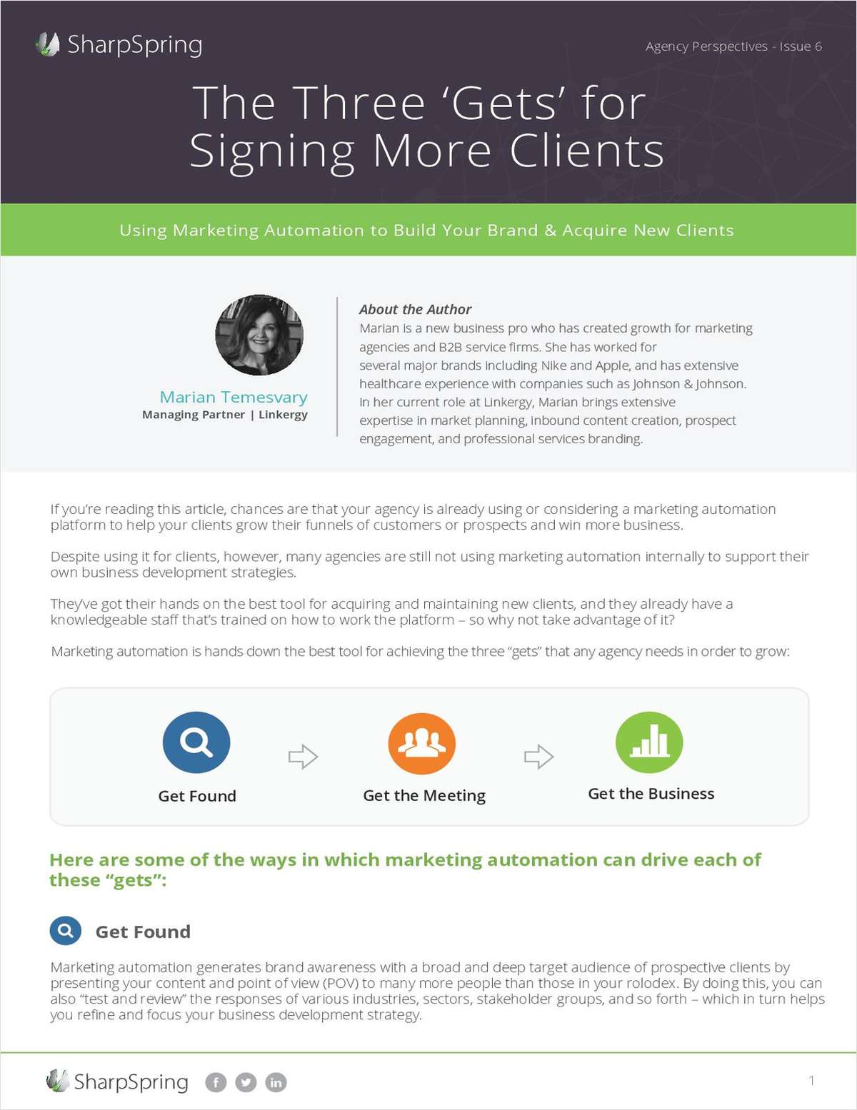 The 3 'Gets' for Signing More Clients