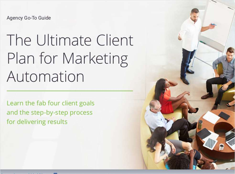 The Ultimate Client Plan for Marketing Automation
