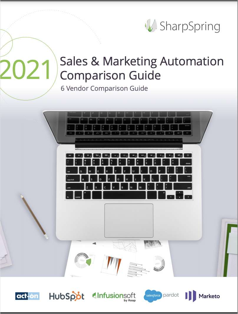 2021 Sales and Marketing Automation Comparison Guide