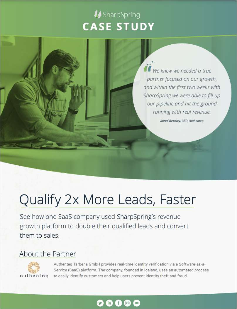 Case Study: Qualify 2x More Leads, Faster with Marketing Automation