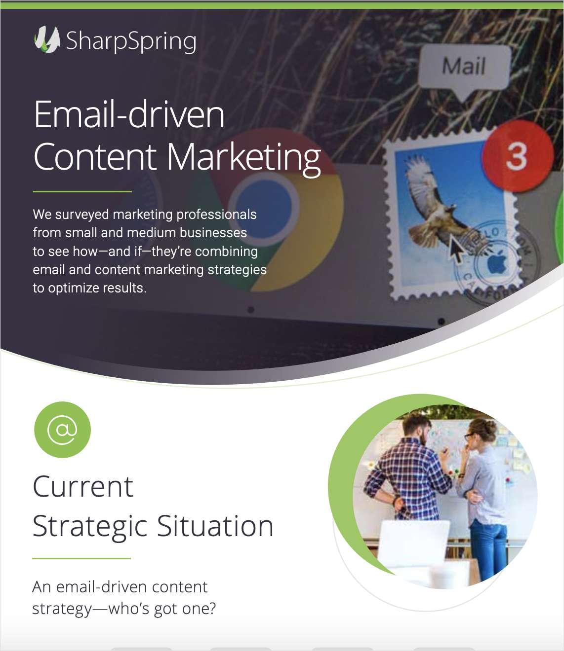 Email-driven Content Marketing for Businesses