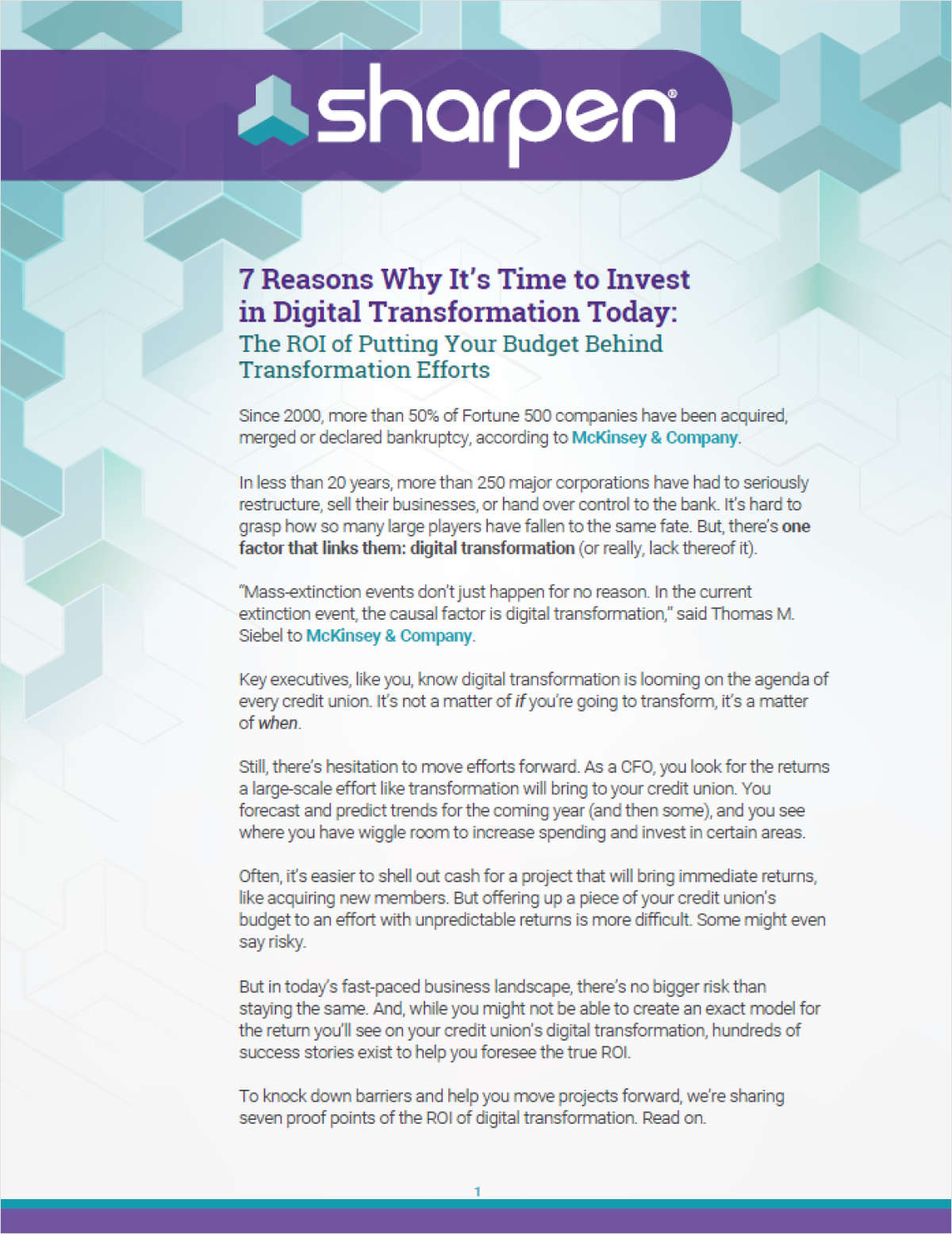 Digital Transformation Toolkit: How to Get Buy-In From Credit Union Leaders