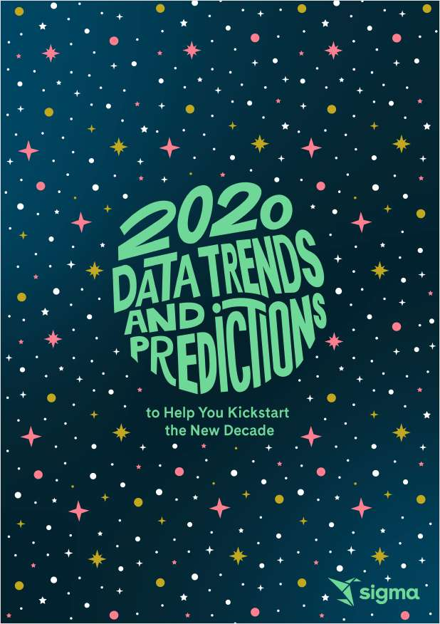 2020 Data Trends and Predictions