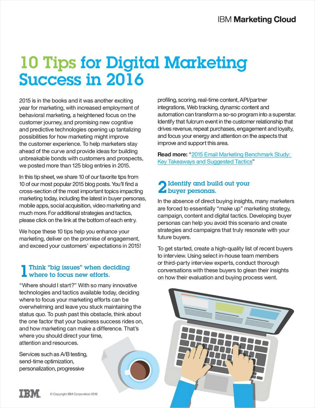 10 Tips for Digital Marketing Success in 2016