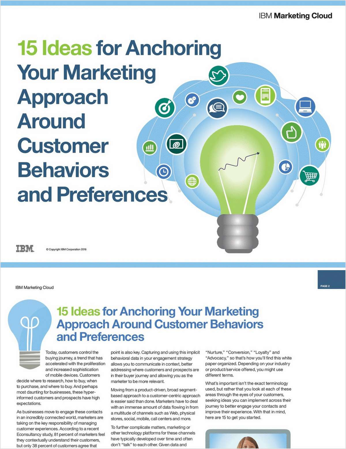 15 Ideas for Anchoring Your Marketing Approach Around Customer Behaviors and Preferences