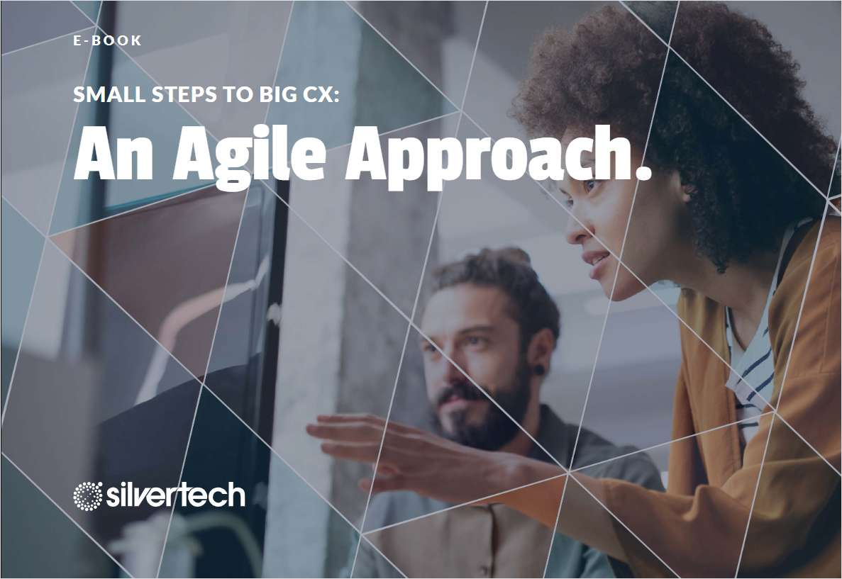 E-book: Small Steps to Big CX: An Agile Approach