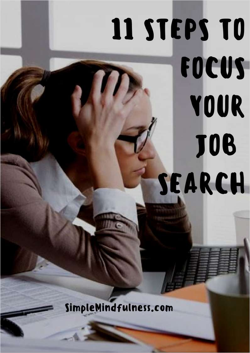 11 Steps to Focus Your Job Search