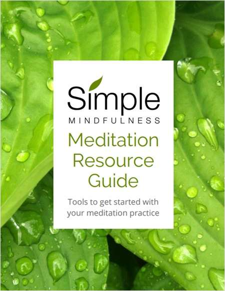 Meditation Resource Guide - Tools to Get Started with Your Meditation Practice