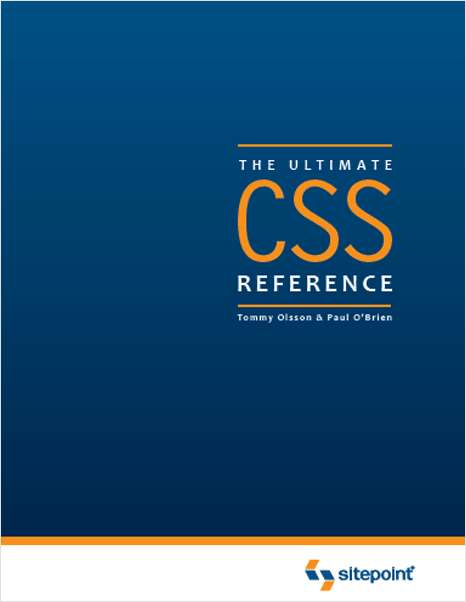 The Ultimate CSS Reference--Free 46 Page Preview