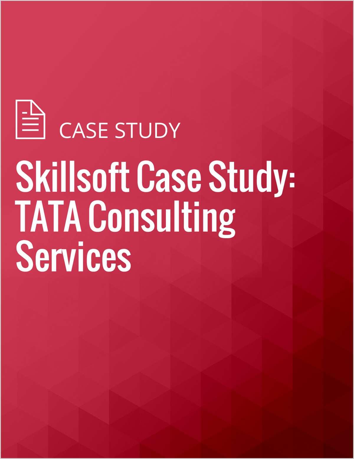 Skillsoft Case Study: TATA Consulting Services