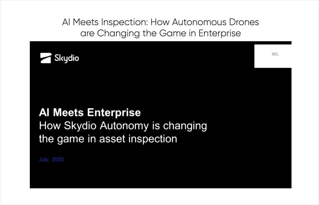 AI Meets Inspection: How Autonomous Drones are Changing the Game in Enterprise