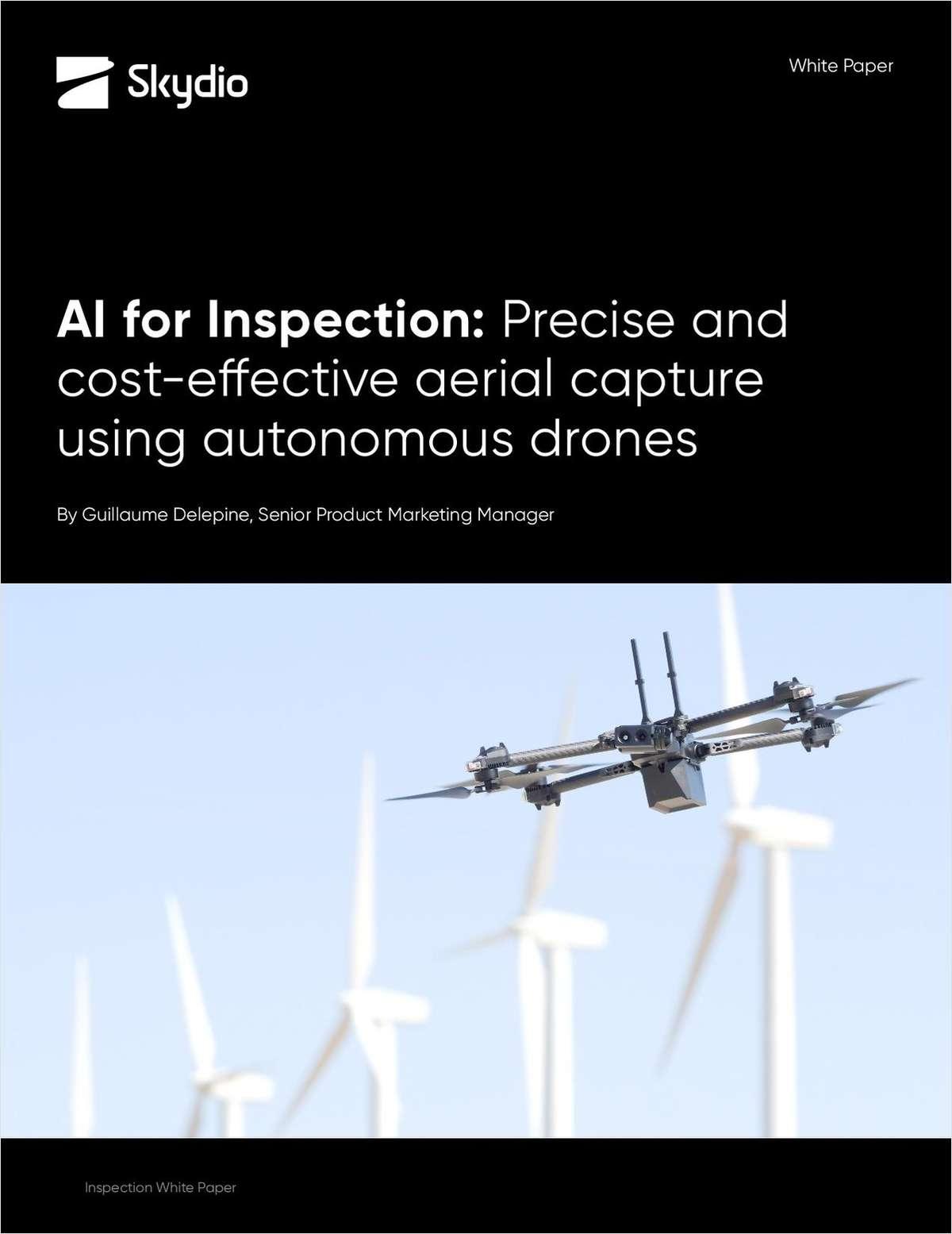 AI for Inspection: Precise and Cost-Effective Aerial Capture Using Autonomous Drones