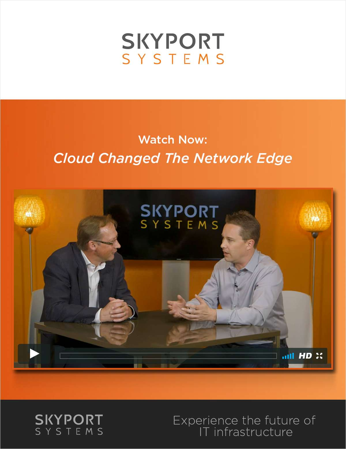 Cloud Changed the Network Edge