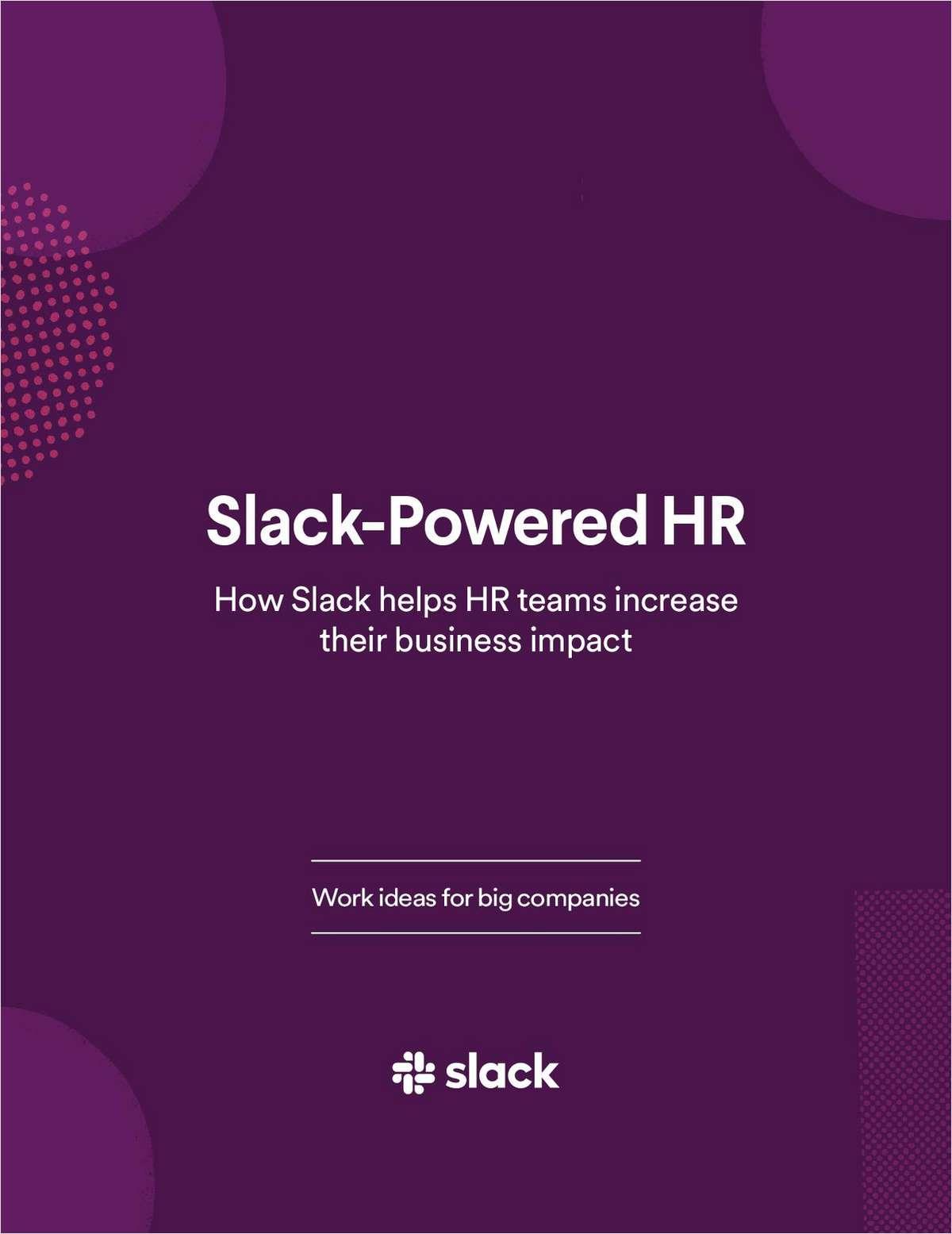Slack-Powered HR
