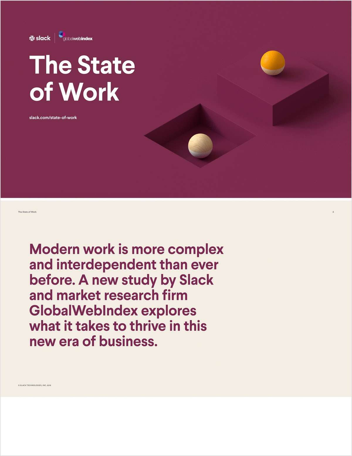 State of Work
