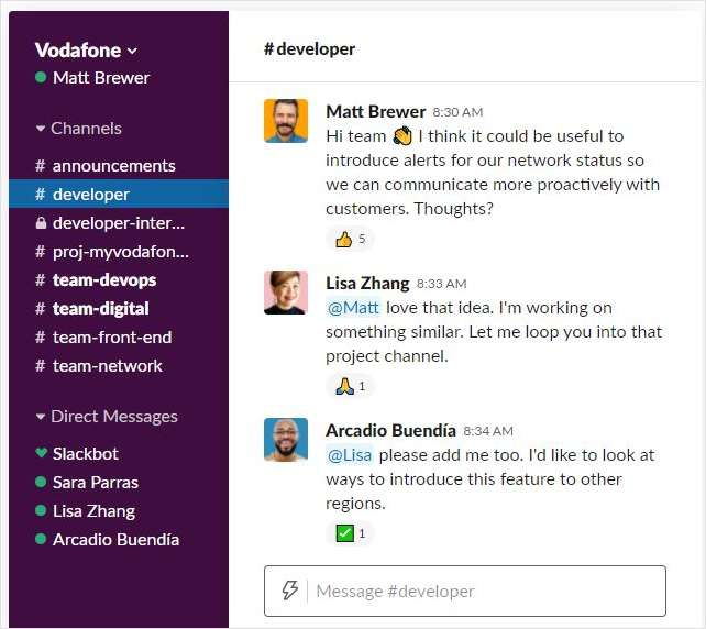 Vodafone Dials Up Developer Innovation and Customer Capability with Slack