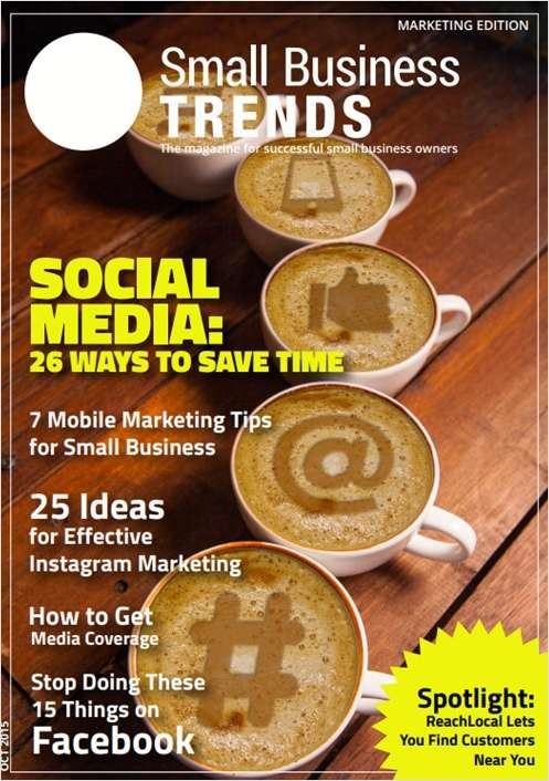 Social Media: 26 Ways to Save Time -- Marketing Issue