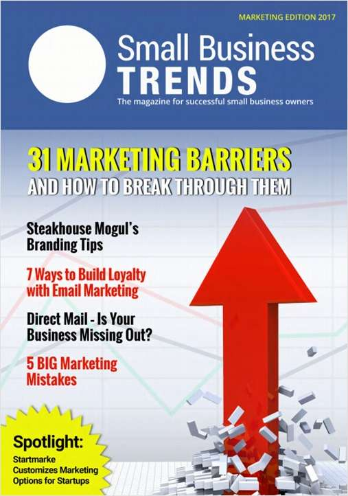 31 Marketing Barriers and How to Break Through Them -- Marketing Edition 2017