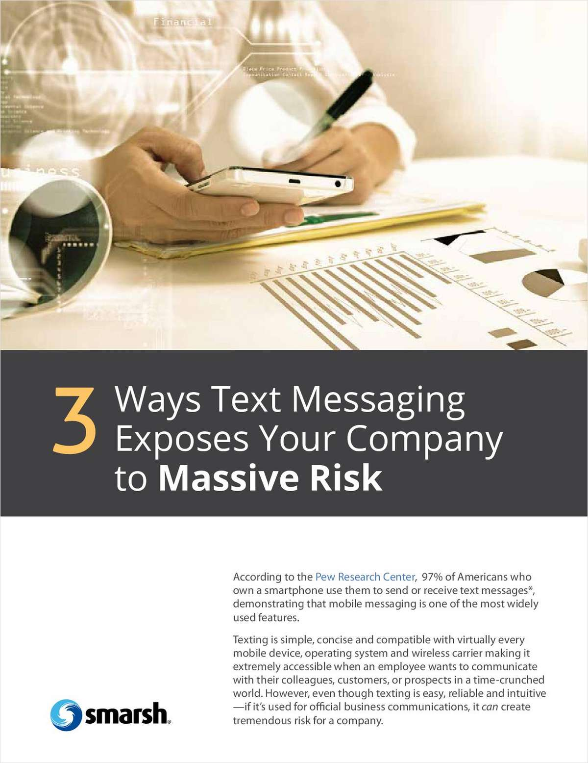 3 Ways Text Messaging Exposes Your Credit Union to Massive Risk