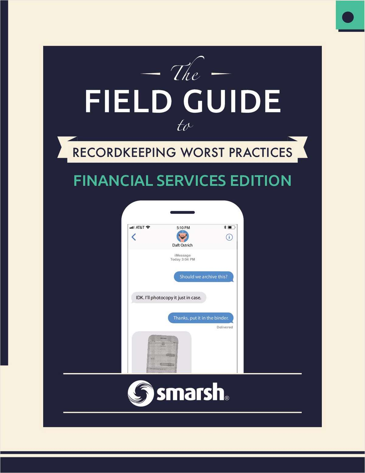 The Field Guide to Recordkeeping Worst Practices