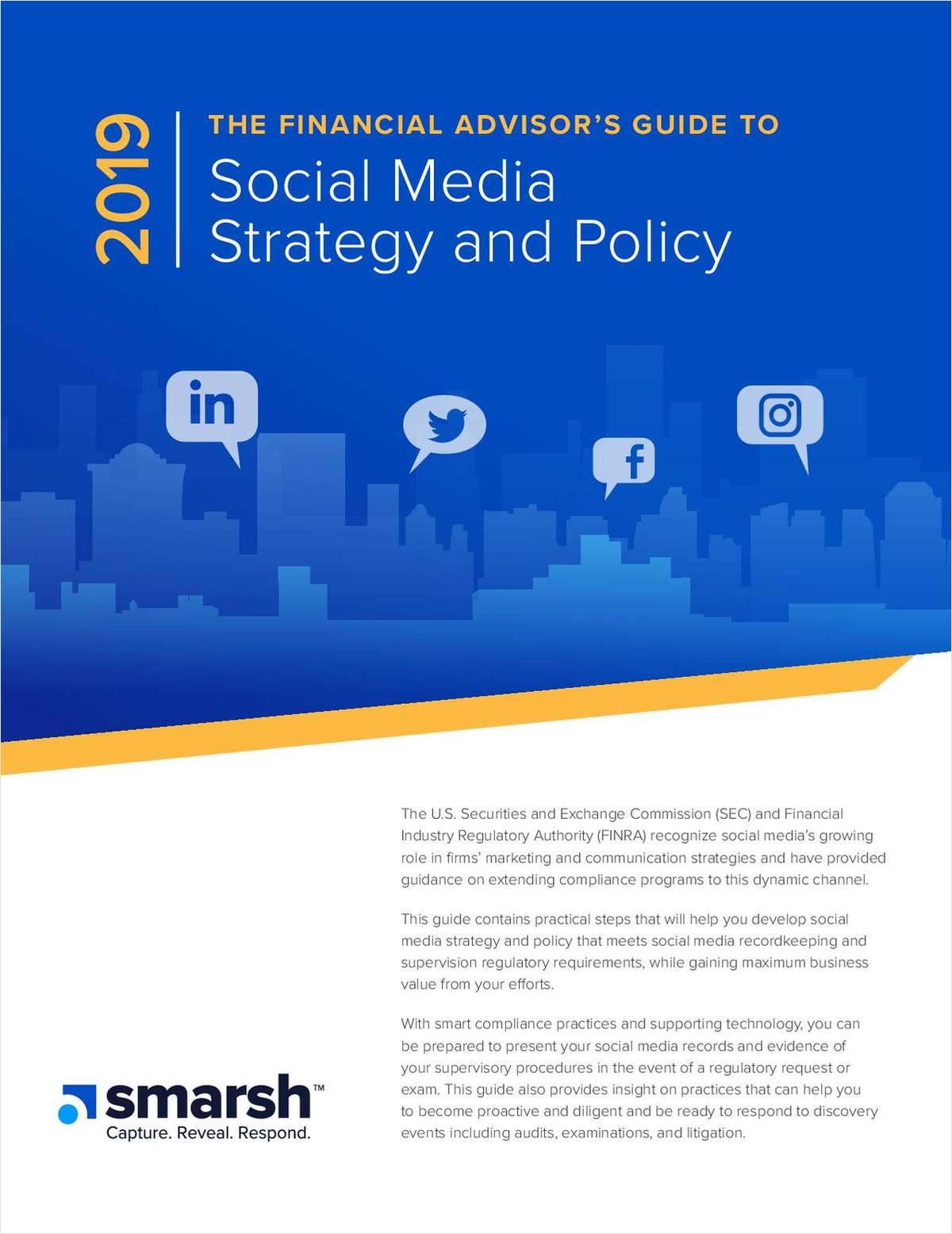 The Financial Advisor's Guide To Social Media Strategy and Policy