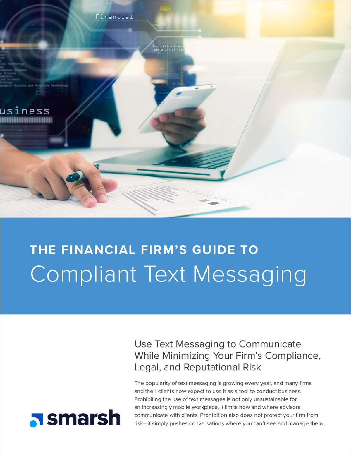 The Financial Firm's Guide to Compliant Text Messaging
