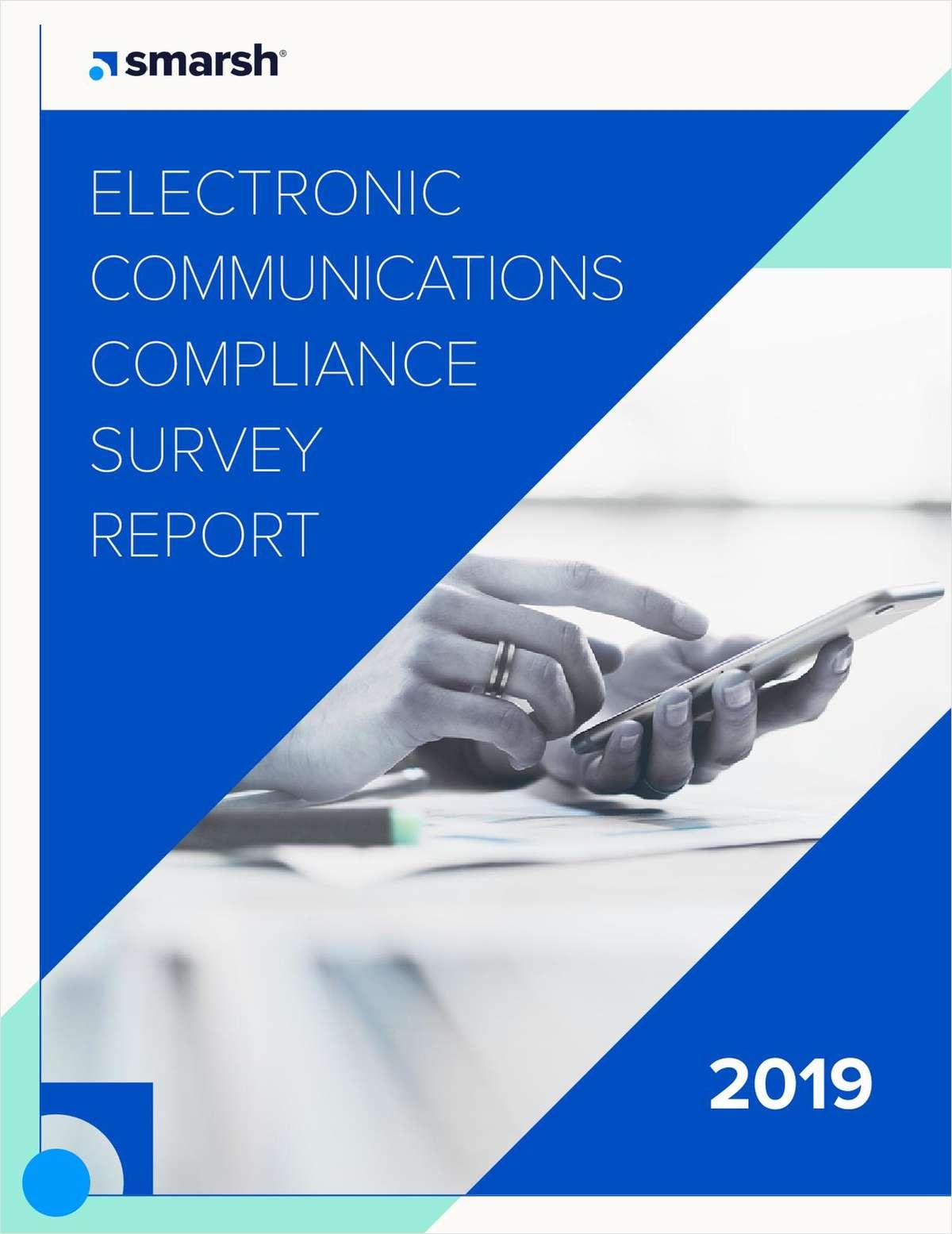 Electronic Communications Compliance Survey Report