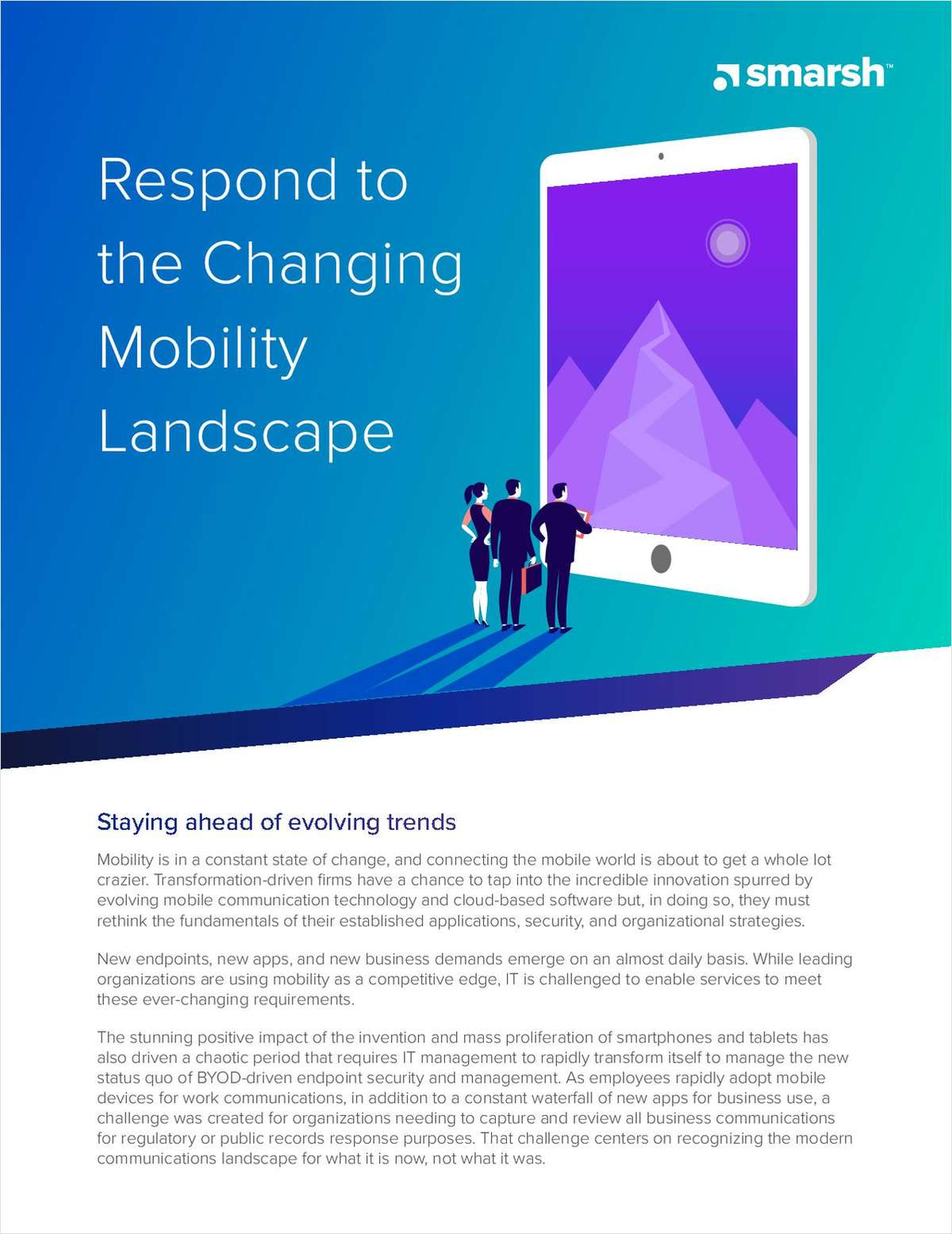 Respond to the Changing Mobility Landscape