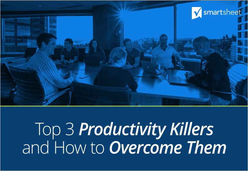 Top 3 Productivity Killers and How to Overcome Them