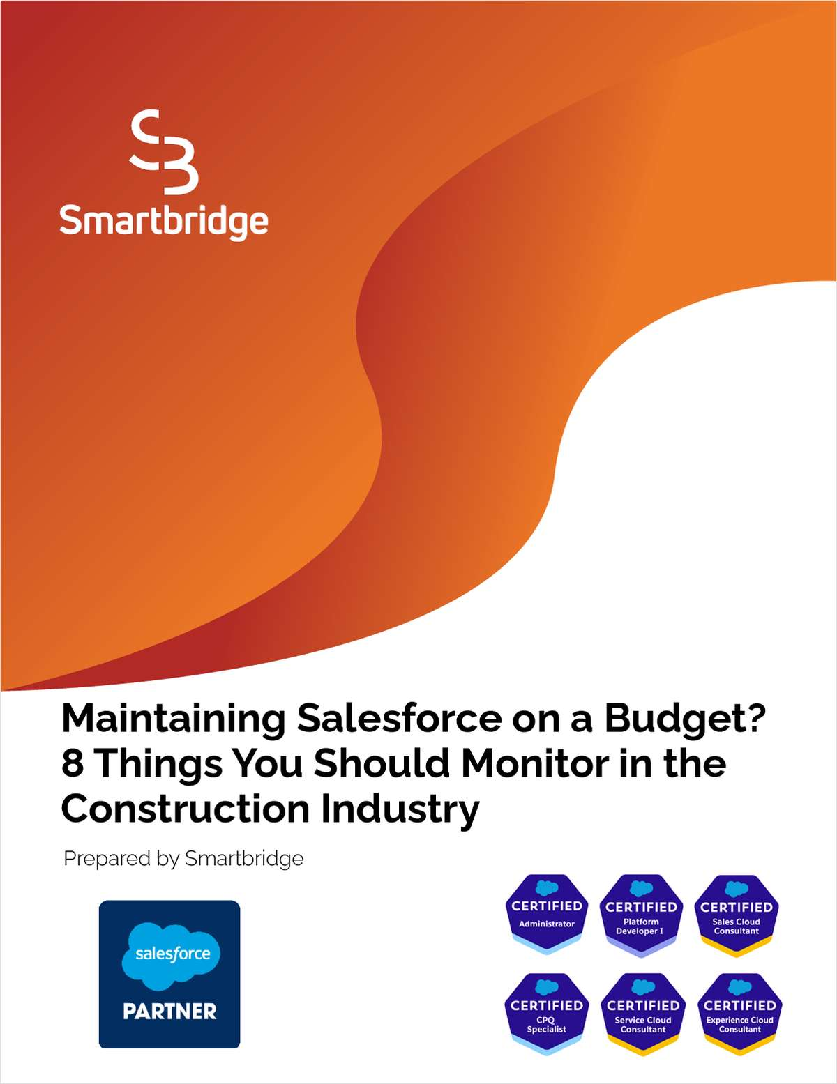 Maintaining Salesforce on a Budget E-Book for Construction