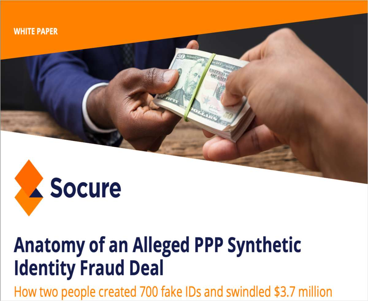Anatomy of an Alleged PPP Synthetic Identity Fraud Deal