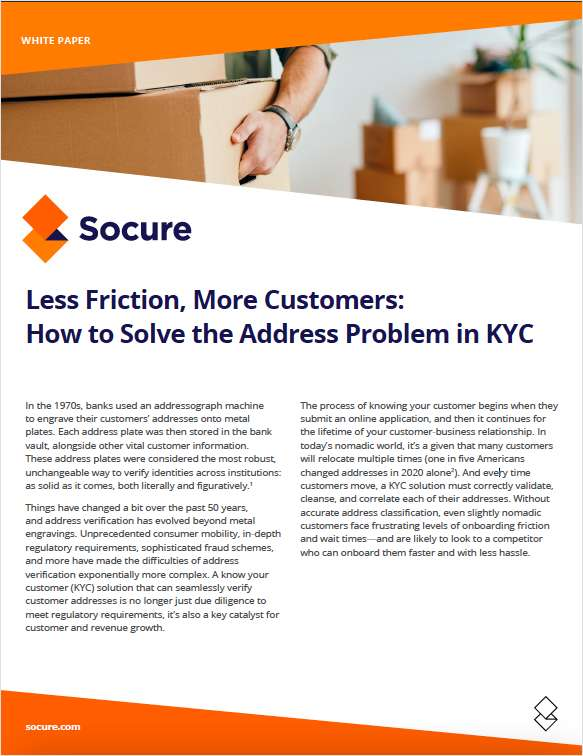 Addressing the Difficulty with Resolving Address for KYC