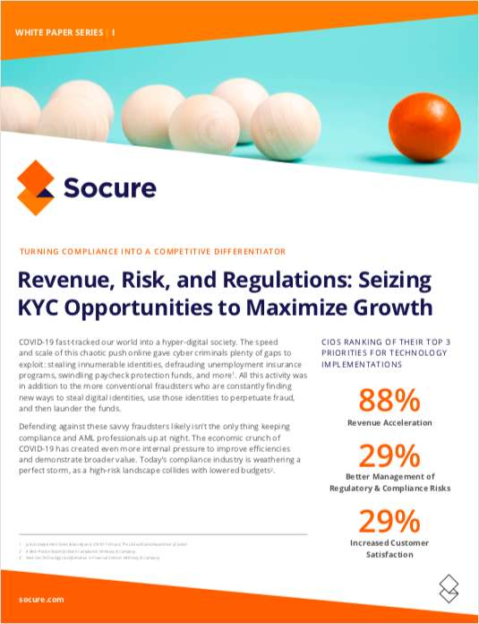 Revenue, Risk, and Regulations: Seizing KYC Opportunities to Maximize Growth